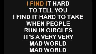 Gary Jules - Mad World (Karaoke)