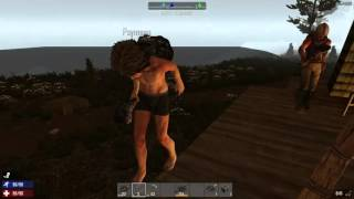 7 Days To Die - Our First Horde Attack