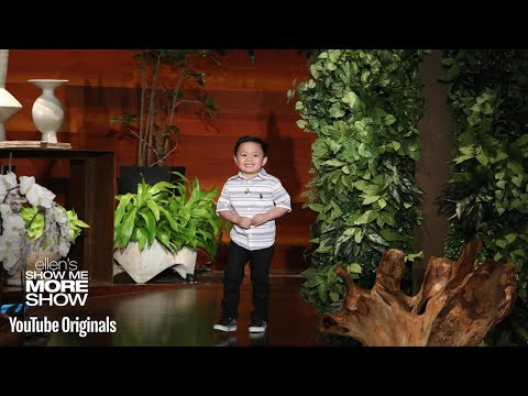 Ellen's Adorable 4-Year-Old Globe Expert is Back