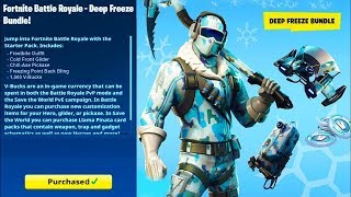 FORTNITE NEW PACK BIG FROID ON THE BOUTIQUE [PS4][LIVE]