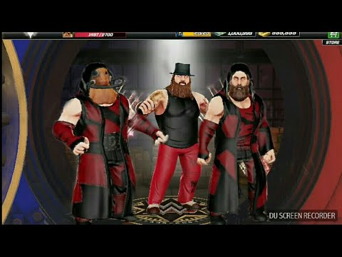 Wwe mayhem game Faces Of Fear and Wyatt Family Loot Case open