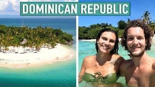 THIS IS WHY YOU TRAVEL THE DOMINICAN REPUBLIC! 🇩🇴 CAYO LEVANTADO & LOS HAITISES (SAMANA)