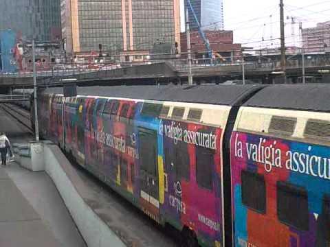 Eb 760 malpensa express in livrea carpisa in transito a - Porta garibaldi malpensa terminal 2 ...