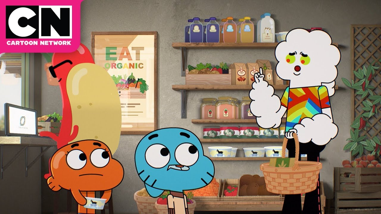 The Amazing World of Gumball   An Eco-Friendly Mr. Small   Cartoon Network
