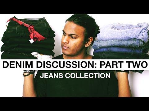Denim Discussion: Part Two (Jeans Collection) #sanjwearscoolpants
