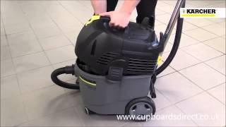 Karcher Nt 35/1 Tact Wet And Dry Vacuum Cleaner