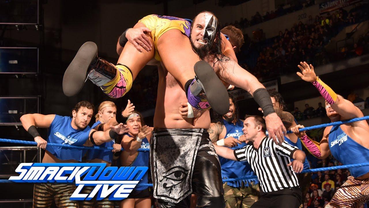 Download 16-Man Tag Team Match: SmackDown LIVE, Nov. 15, 2016