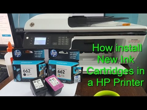 How To Replace Or Install A Hp Ink Cartridge Youtube