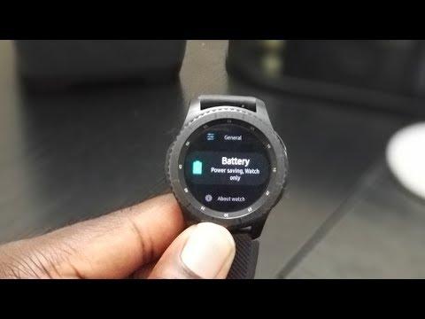 Gear S3 Battery Drain Fix!!!