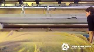 Производство нетканого материала - дорнит (нетканого полотна).(, 2013-11-18T10:28:46.000Z)
