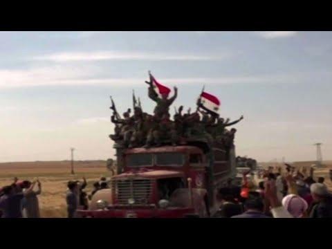'אין מים, אין בתי שימוש, כלום': הלחימה בסוריה נמשכת