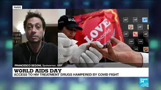 World AIDS Day: resources redirected towards fighting Covid-19