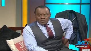 Jeff Koinange Live - With Peter Kenneth PART2 (26th July 2017)