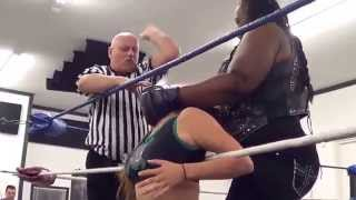 """Crazy"" Mary Dobson vs. Amazing Kong [PDW 12.11.2014]"