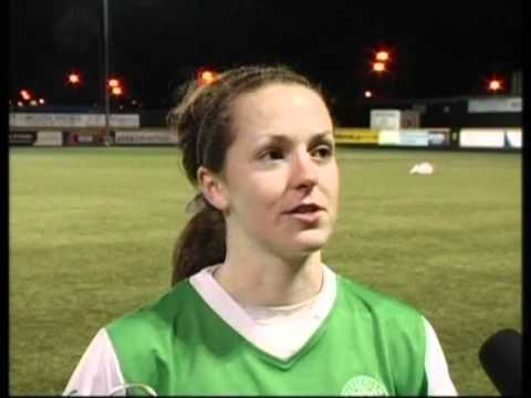 Jenna Ross post match interview against Rangers Ladies