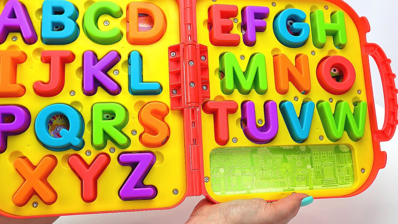 Letters And Numbers For Toddlers