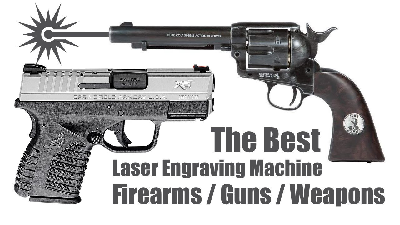 Weapons, Firearms, Guns Laser Engraving Machine for Sale at an Affordable  Price