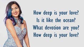 Calvin Harris - HOW DEEP IS YOUR LOVE | BALAM PICHKARI (Vidya Vox Mashup Cover) (Lyrics)