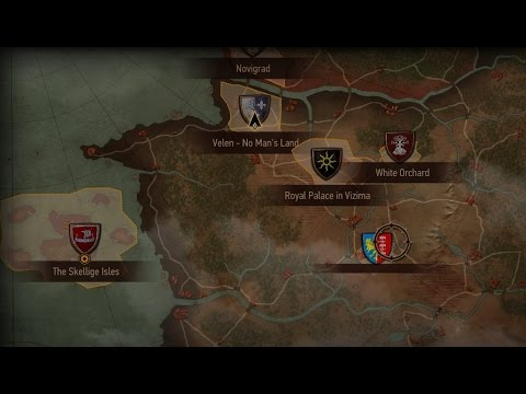 New World Map Marker on Witcher 3! [Blood and Wine?] (Obviously by ...