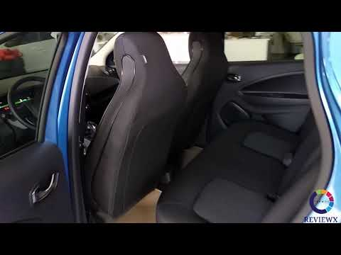 Review of Renault ZOE. Doha. Qatar