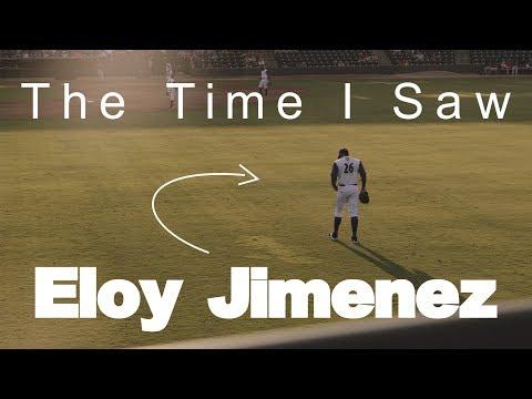 Eloy Jimenez - Top Baseball Prospect At Winston-Salem Dash - Vlog 13