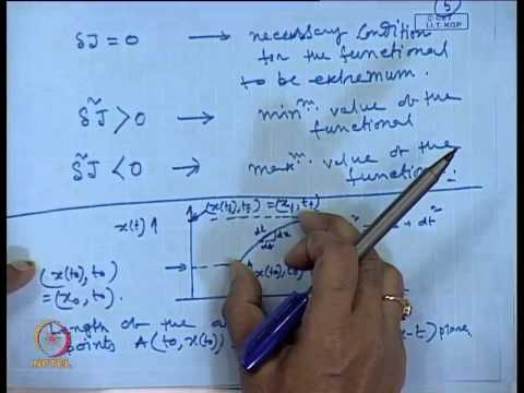 Mod-01 Lec-30 Dynamic Optimization Problem : Basic Concepts & Necessary and Sufficient Conditions