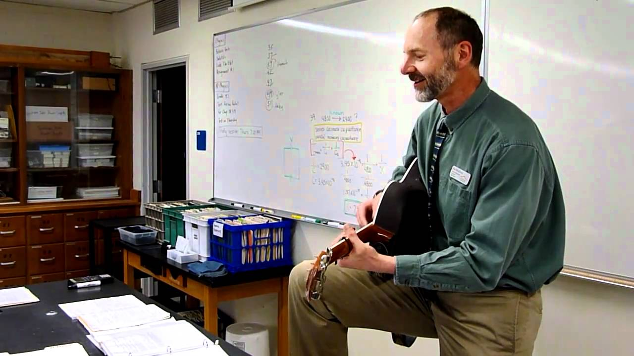 jim moulton  singing physics teacher at longmont high