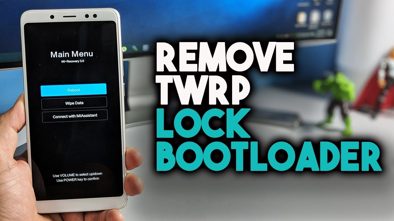 REMOVE TWRP & LOCK BOOTLOADER On Xiaomi Phones by Technobuzznet