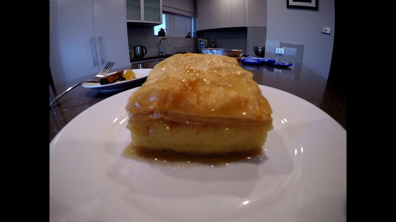 How To Make Galaktoboureko Greek Custard Pastry