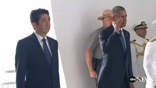 Obama, Japan PM Shinzo Abe Full Speech at Pearl Harbor | ABC News