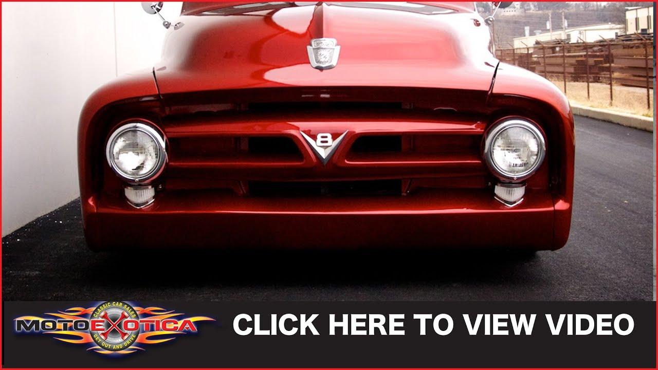 1953 Ford F100 Custom Sold Youtube 1955 Sun Visor Premium