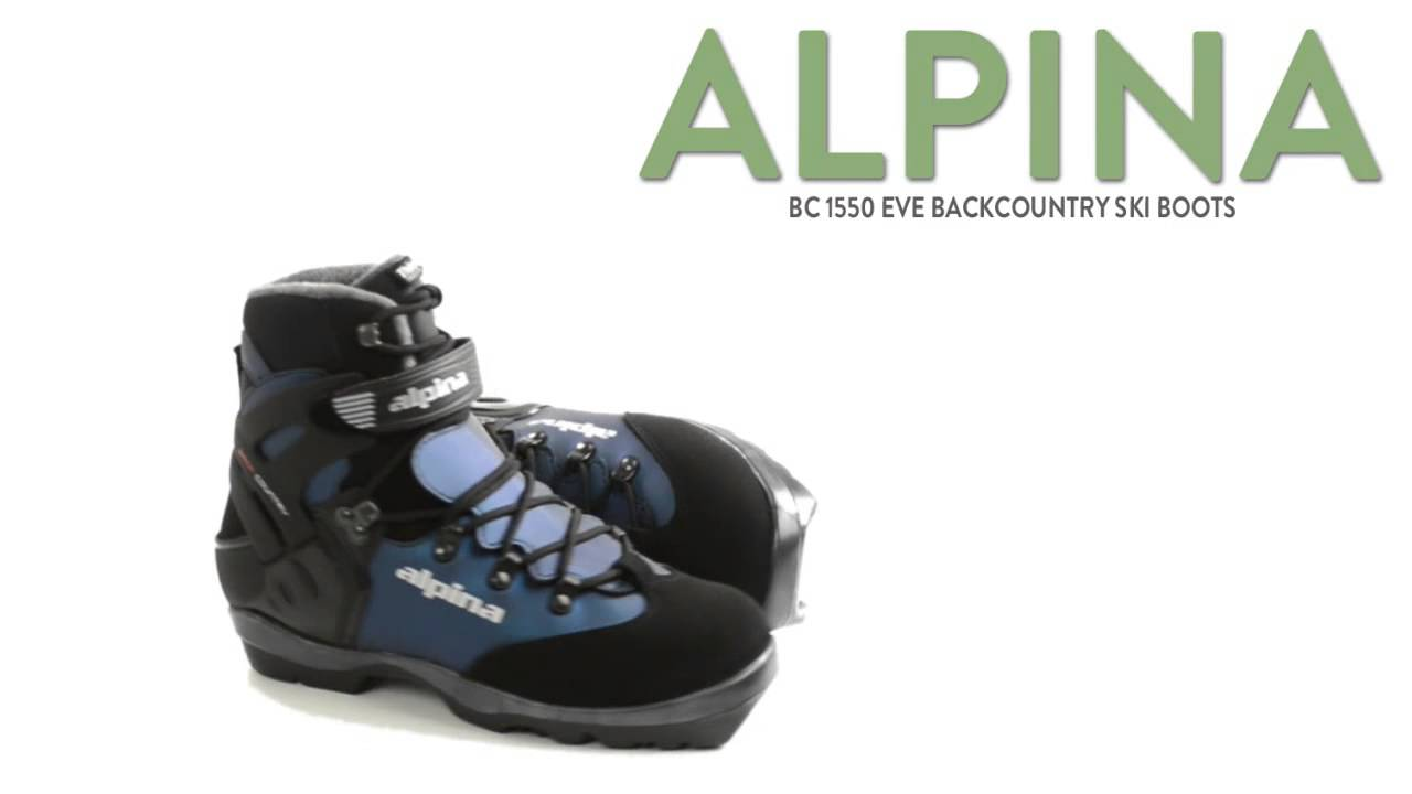 Alpina BC Eve Backcountry Ski Boots Insulated BC NNN For - Alpina 1550