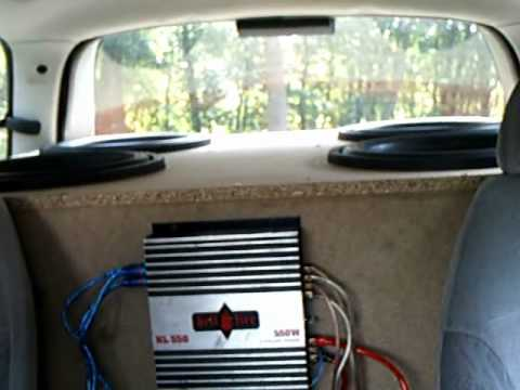 Car Audio Setup 4 15s Subwoofer Boschmann Audio