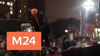 """""""Звездный репортаж"""": """"Рэп под запретом"""" - Москва 24"""