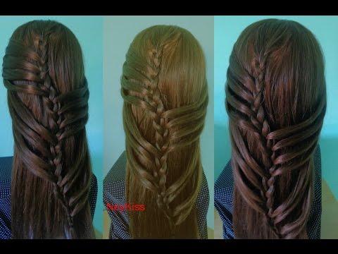 Penteado Fácil E Rápido Penteado Para Cabelos Longos E Médios