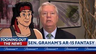 Rambo responds to Lindsey Graham's AR-15 fantasy