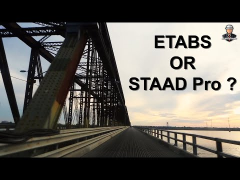 ETABS or STAAD Pro?