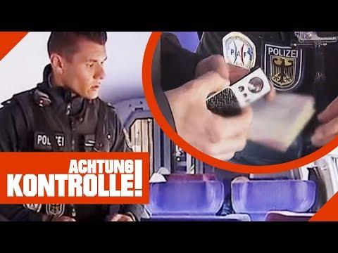Passkontrolle an der Grenze: Werden hier gefälschte Pässe benutzt? 2/2   Achtung Kontrolle