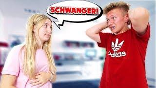Freundin SCHWANGER! 😳 **xxl prank an MICH**