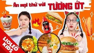 Thử thách ăn tất cả mọi thứ với tương ớt Chinsu - Tương ớt không có lỗi, lỗi tại đồ ăn