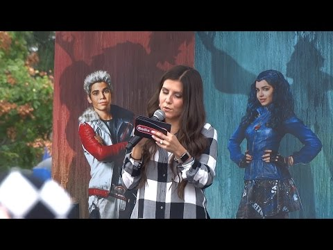 Descendants Fan Event intro and trivia at Downtown Disney