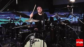 Paiste Cymbals - Eloy Casagrande - Drum Cam - Raging Void (Sepultura)