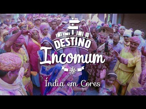 Destino Incomum – Índia em Cores – Holi Festival