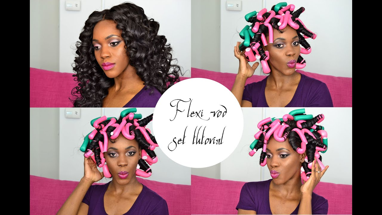 Flexi Rods Tutorial How To Get Heat Free Effortless Bouncy Curls Overnight