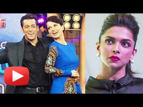 Kangana Ranaut Snatches Salman Khan From Deepika Padukone - Watch Why