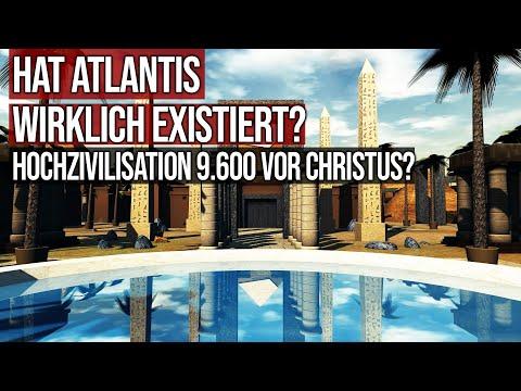 Hat Atlantis wirklich existiert? - Hochzivilisation vor 11.000 Jahren?