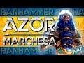 Jolt - Commander - Azor, the Lawbringer vs Queen Marchesa (M19 Commander Talk)