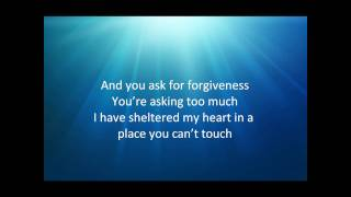 sarah mclachlan - forgiveness with lyrics