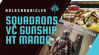 Squadron's Chatter, A Vintage Collection Republic Gunship & Josh's Hot Toy - The Mandalorian!