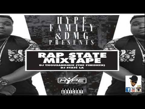 DJ THOUSAND MIX - RAP STATES NATION MIXTAPE by SAJES NET ALE